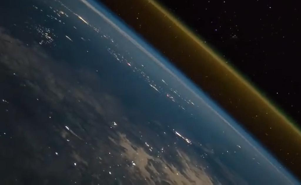 Breathtaking pictures: A rocket launch seen from the ISS